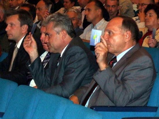 Виталий Стадниченко первым поддержал выдвижение Геннадия Костюкова